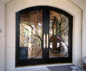 From your door design ideas we will give you an estimate to include everything your door may need from an unusual size locks weather stripping and door ... & Ornamental Metal Work and Iron Work pezcame.com